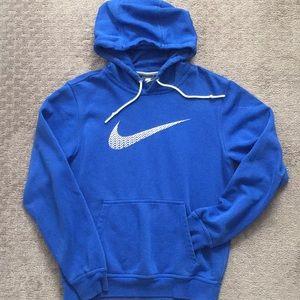 Nike hoodie cobalt blue sweatshirt S